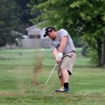 Mineral Ridge High School Boys Varsity Golf beat Lowellville Local High School 203-235