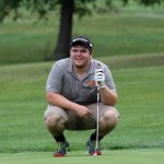Mineral Ridge High School Boys Varsity Golf falls to Mathews High School 176-237
