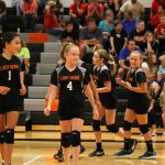 Mineral Ridge Girls 7th Grade Volleyball beat Western Reserve Local 2-0