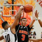 Mineral Ridge High School Boys Varsity Basketball falls to Valley Christian School 81-61