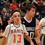 Mineral Ridge Boys 7th Grade Basketball falls to Mcdonald High School 43-40