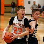 Mineral Ridge Boys 8th Grade Basketball beat Mcdonald High School 61-57