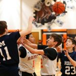 Mineral Ridge Boys 8th Grade Basketball falls to Mcdonald High School 42-41