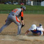 Mineral Ridge High School Varsity Baseball falls to Springfield Local High School 9-3