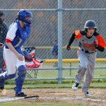 Mineral Ridge High School Varsity Baseball falls to Garfield High School 9-3