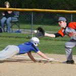 Mineral Ridge High School Varsity Baseball falls to Jackson-Milton Local High School 13-0