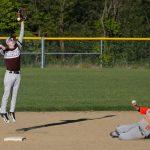 Mineral Ridge High School Varsity Baseball beat Waterloo High School 13-3