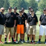 Mineral Ridge High School Boys Varsity Golf beat Lowellville Local High School 191-226