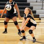 Mineral Ridge Girls 8th Grade Volleyball falls to Jackson-Milton Local High School 2-0