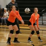 Mineral Ridge High School Girls Junior Varsity Volleyball beat Pymatuning Valley High School 2-0