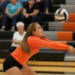 Mineral Ridge High School Girls Junior Varsity Volleyball falls to Crestview High School 2-0