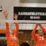 Mineral Ridge High School Girls Junior Varsity Volleyball beat Champion High School 2-0