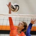 Mineral Ridge High School Girls Junior Varsity Volleyball beat Western Reserve High School 2-0