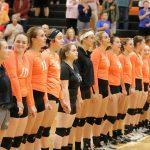 Mineral Ridge High School Girls Varsity Volleyball beat Western Reserve High School 3-2