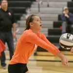 Mineral Ridge High School Girls Varsity Volleyball falls to Springfield Local High School 3-0