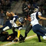 Mineral Ridge High School Varsity Football falls to Mcdonald High School 48-6