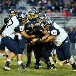 Mineral Ridge High School Junior Varsity Football falls to Mcdonald High School 26-0
