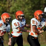 Mineral Ridge Middle School Football beat Jackson-Milton Local High School 28-6