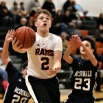 Boys 7th Grade Basketball beats Mcdonald 55 – 16