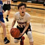 Boys 7th Grade Basketball falls to Lowellville Local 39 – 37