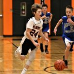Boys 7th Grade Basketball beats Heartland Christian 52 – 26