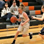 Girls 7th Grade Basketball falls to Western Reserve 35 – 6