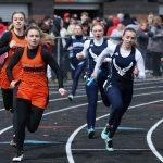 Girls Varsity Track Finish 2nd at the Western Reserve Relays Thursday Night