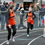 Girls Varsity Track Takes 9th at the Trumbull County Meet at Lakeview High School