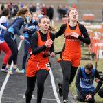 Girls Varsity Track takes 3rd Against Mcdonald High School, Springfield Local High School, Lowellville Local