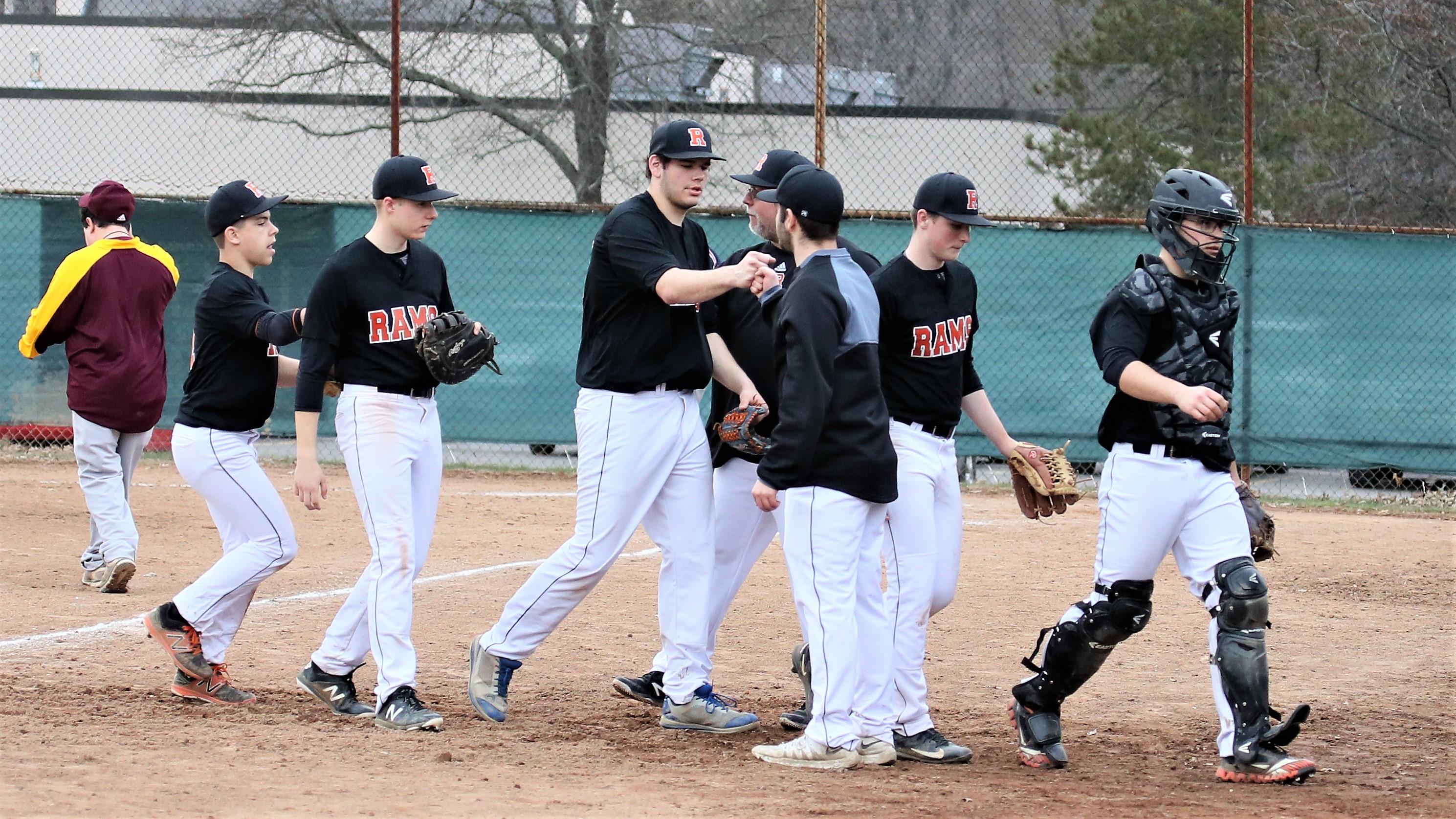 Varsity Baseball beats Mcdonald 7 – 5