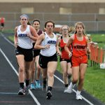 Girls Varsity Track Runs to 3rd at the MVAC Championship at Mineral Ridge High School