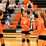 Girls Junior Varsity Volleyball win vs Waterloo 2