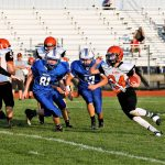 Junior High Rams Fall to Western Reserve 28-10