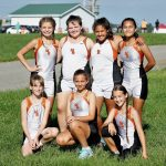 Girls Middle School Cross Country finishes 11th place at Suburban League Championship