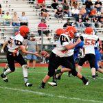 Boys Middle School Football beats Springfield Local 30 – 20