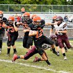 Boys Middle School Football beats Jackson-Milton 30 – 14