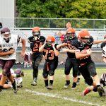 Boys Middle School Football beats Mcdonald 20 – 8