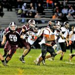 Boys Varsity Football Gets 1st Win and Downs Waterloo 8 – 0