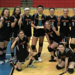 8th Grade Lady Rams Wins Lordstown Tournament and Defeats Chalker