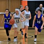 Girls 8th Grade Basketball falls to Springfield Local 32 – 22