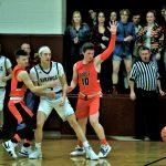 Boys varsity basketball beats Jackson-Milton 77-58
