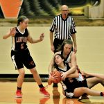 Girls Varsity Basketball falls to Columbiana 67 – 34