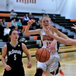 Girls Varsity Basketball beats Badger 62 – 44