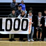 Harkins Gets 1,000 Points and Girls Basketball beats Jackson-Milton 51 – 49