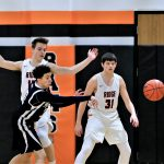 Boys Junior Varsity Basketball Falls to McDonald 54 – 30