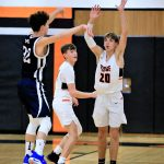 Boys Junior Varsity Basketball falls to Pymatuning Valley 62 – 35