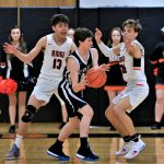 Boys Junior Varsity Basketball beats Sebring-McKinley 58 – 56