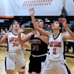 Lady Rams Go to (11-9) and Downs Mathews 64 – 39