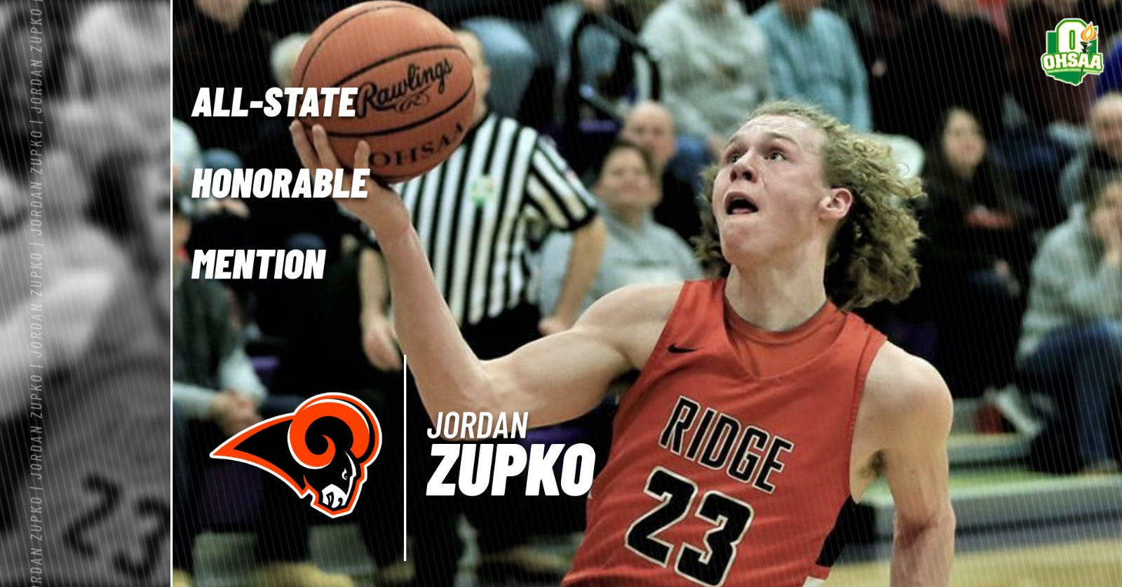 Zupko Earns All-State Honorable Mention