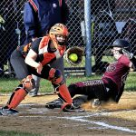 Girls Varsity Softball falls to Waterloo 7 – 6 in a close game